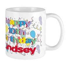 Lindsey's 10th Birthday Mug
