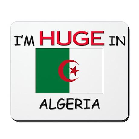 I'd HUGE In ALGERIA Mousepad