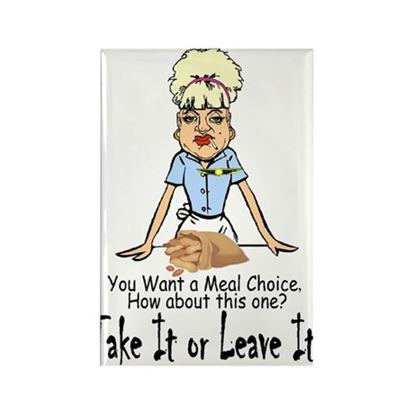 Take it or Leave it. Rectangle Magnet (10 pack)