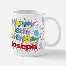 Joseph's 8th Birthday Mug