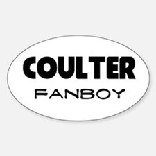Ann Coulter Oval Decal