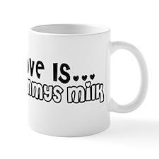 Love is - Mommys Milk Mug