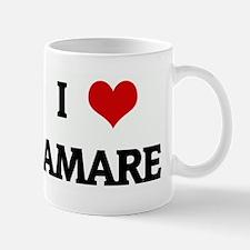 I Love AMARE Mug