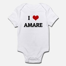 I Love AMARE Infant Bodysuit