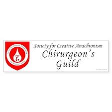 SCA Chirurgeon's Guild Bumper Sticker (10 pk)