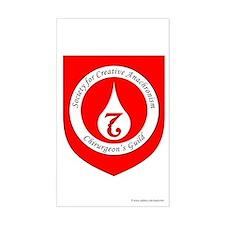 SCA Chirurgeon's Guild Rectangle Sticker