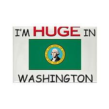 I'd HUGE In WASHINGTON Rectangle Magnet