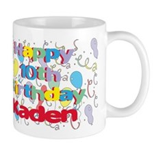 Kaden's 10th Birthday Mug