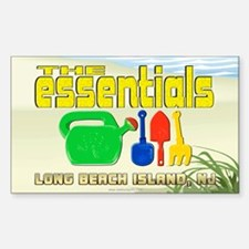 The Essentials... Rectangle Decal