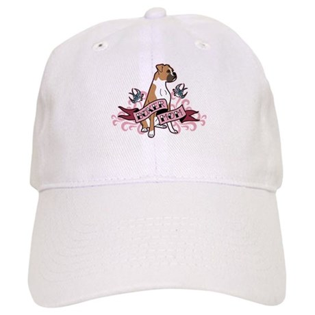 Boxer Mom Tattoo Cap
