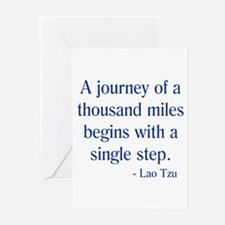 Thousand Miles Greeting Cards (Pk of 10)