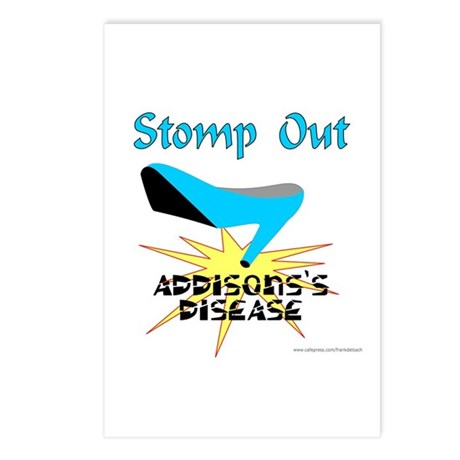ADDISON'S DISEASE AWARENESS Postcards (Package of