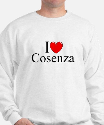"""I Love (Heart) Cosenza"" Sweatshirt"