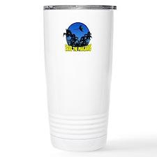 Blue Save Macaws Travel Mug