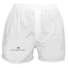 I Love My Queen Claudia Becau Boxer Shorts