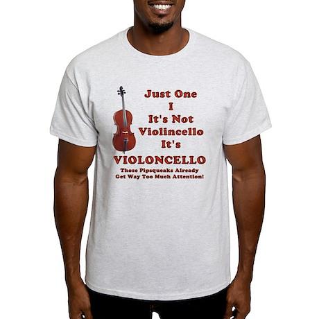 violOncello -- Cello Pride Light T-Shirt