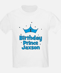 1st Birthday Prince Jaxson! T-Shirt