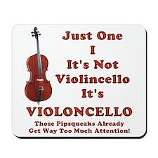 violOncello -- Cello Pride Mousepad