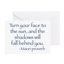 Turn Your Face Greeting Cards (Pk of 10)