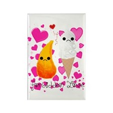 Forbidden Love Rectangle Magnet