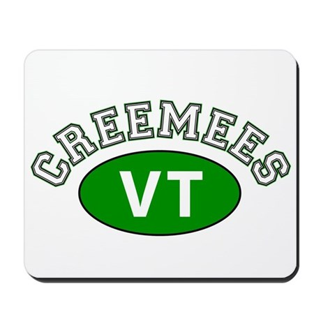 Vermont Creemees Mousepad