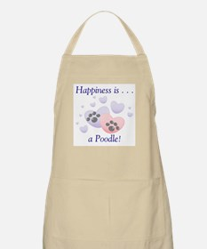 Happiness is...a Poodle BBQ Apron