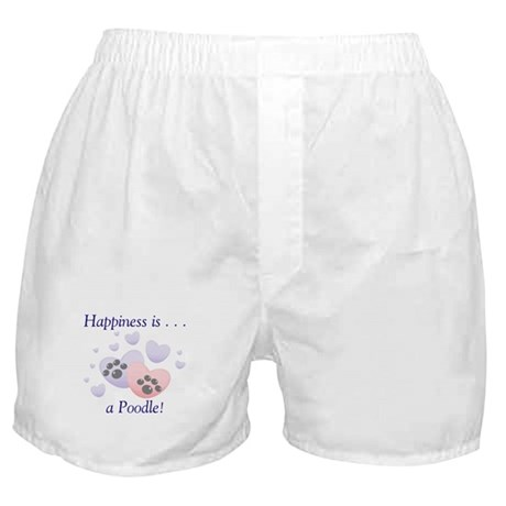 Happiness is...a Poodle Boxer Shorts