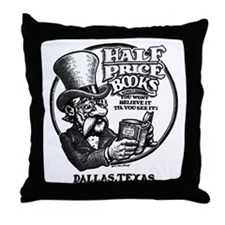 """Half Price Books"" Throw Pillow"