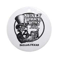 """Half Price Books"" Ornament (Round)"