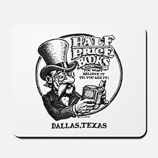 """Half Price Books"" Mousepad"