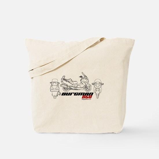 Burgman 650 Tote Bag