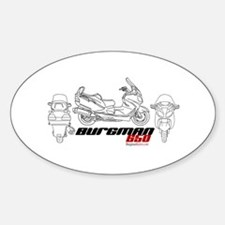 Burgman 650 Oval Decal