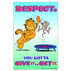 Respect Garfield Posters