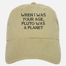 When Pluto Baseball Baseball Cap