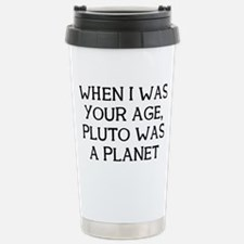 When Pluto Travel Mug