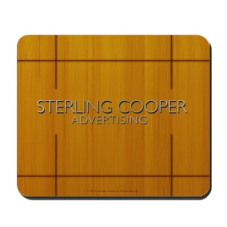 Sterling Cooper Mousepad by madmentv