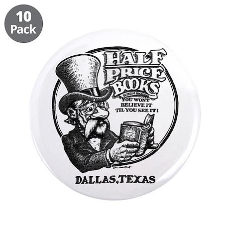 """Vintage HPB"" 3.5"" Button (10 pack)"