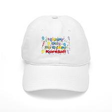 Kendall's 9th Birthday Baseball Cap