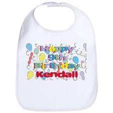 Kendall's 9th Birthday Bib
