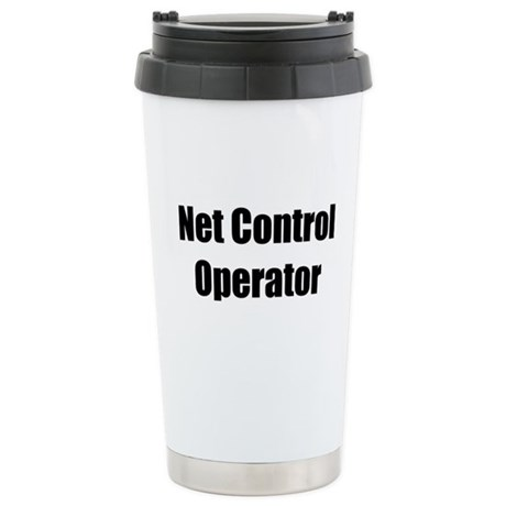 Net Control Operator Stainless Steel Travel Mug