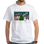 Xmas Magic & Samo White T-Shirt