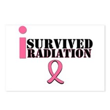 I Survived Radiation Postcards (Package of 8)