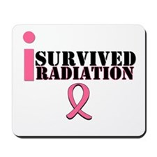 I Survived Radiation Mousepad