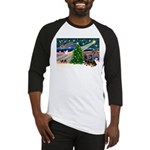 XmasMagic/2 Rotties Baseball Jersey