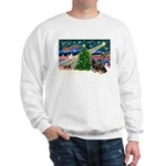 XmasMagic/2 Rotties Sweatshirt