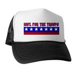 100% Support The Troops Trucker Hat