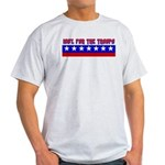 100% Support The Troops Ash Grey T-Shirt