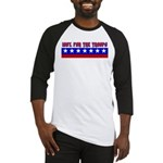100% Support The Troops Baseball Jersey