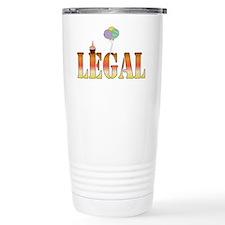 Finally Legal Birthday Travel Mug