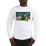 XmasMagic/Rhodesian RB Long Sleeve T-Shirt